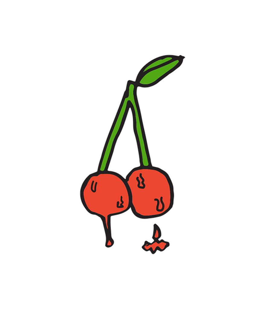 MCII cherries logo